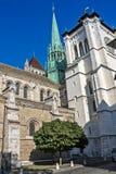 St. Pierre Cathedral of Geneva, Switzerland Stock Photography