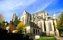 St Pierre Cathedral, Nantes royalty free stock photography