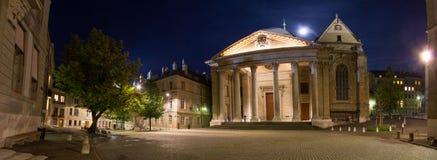 St Pierre Cathedral panoramico Fotografia Stock Libera da Diritti