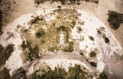St Pierre Cave Church, Antakya, Hatay, Turkiet Royaltyfri Bild