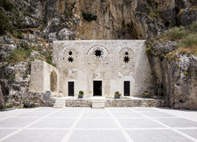 St Pierre Cave Church, Antioche, Hatay, Turquie Image stock