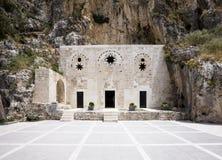 St Pierre Cave Church, Antioquía, Hatay, Turquía Imagen de archivo