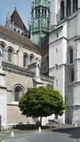 St Pierre Chatedral, Genewa Obrazy Royalty Free