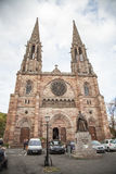 St. Pierre church in Obernai, France Royalty Free Stock Photo
