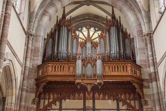 St. Pierre church in Obernai, France Stock Photo