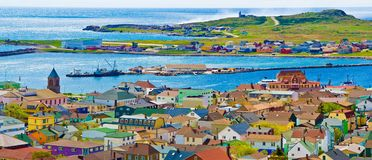 St Pierre et Miquelon Immagine Stock