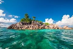 St Pierre Island in Seychellen Royalty-vrije Stock Afbeeldingen