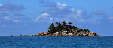 St Pierre islet , Seychelles Royalty Free Stock Photo