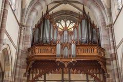 St Pierre kościół w Obernai, Francja Zdjęcie Stock