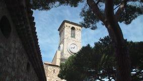 St- Pierre und St.-Paul Church Turm stock footage