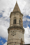 St. Pietro Belltower Basilica. Perugia. stock photos