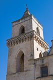 St. Pietro Caveoso Church. Matera. Basilicata. Italy. Royalty Free Stock Images