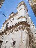 St. Pietro Church. Molfetta. Apulia. Stock Photography