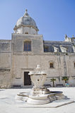 St. Pietro Church. Monopoli. Apulia. Stock Images