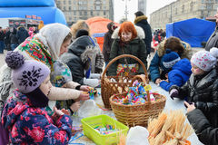 St PIETROBURGO, RUSSIA - 13 MARZO 2016: Ragazza - il padrone Fotografia Stock Libera da Diritti