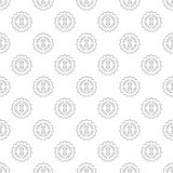 1st place pattern seamless. Black for any design Vector Illustration