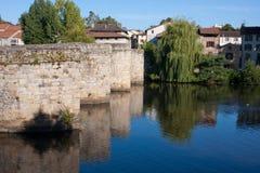 St ponte marziale a Limoges Fotografia Stock
