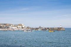 St. portuario Ives, Cornualles, Reino Unido Imágenes de archivo libres de regalías