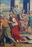 1st Posten van het Kruis Royalty-vrije Stock Afbeelding