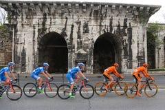 51st presidents- cykla turnerar av Turkiet Arkivbilder