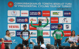 51st presidents- cykla turnerar av Turkiet Royaltyfria Foton