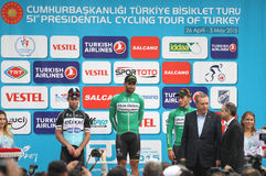 51st presidents- cykla turnerar av Turkiet Royaltyfri Fotografi