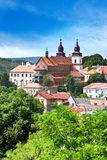 St. Procopius大教堂和犹太镇(联合国科教文组织), Trebic, Vysocina,捷克共和国,欧洲 免版税库存图片