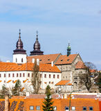 St. Procopius Basilica, Trebic Royalty Free Stock Photo