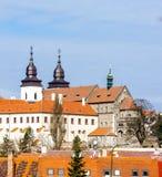 St. Procopius Basilica, Trebic. Czech Republic Royalty Free Stock Photo