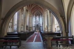 St Prokop教会在布拉格 免版税库存图片