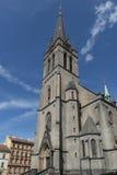 St Prokop kerk in Praag Royalty-vrije Stock Foto's