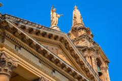 St Publius Church Roof Detail Royalty Free Stock Photo