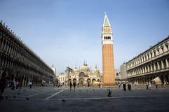 St Quadrato del contrassegno, Venezia, Italia Fotografia Stock Libera da Diritti