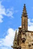 St que separa la iglesia en París, Francia imagenes de archivo
