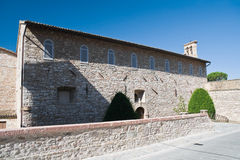 St. Quirico Church. Assisi. Umbria. Royalty Free Stock Image