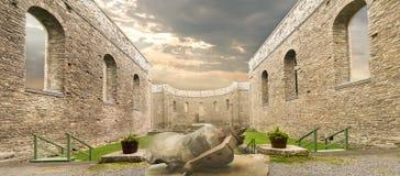 St Raphaels废墟 库存图片