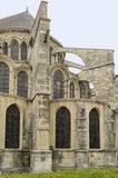 St re'mi flying buttresses, reims Royalty Free Stock Photo