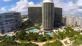 St Regis Bal Harbour luchtvideo stock video