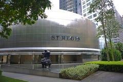 St Regis Hotel, Singapore Arkivfoto