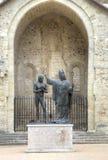 St Remigy de la epifanía del rey Hlodvig (1896) Abbey Saint-Remi Fotografía de archivo