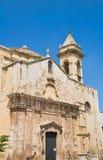 St. Rocco kerk. Palo del Colle. Apulia. Stock Foto's