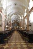 St Rochus, Вена; ступица исторической барочной церков, 17 столетие, Австрия стоковое изображение rf