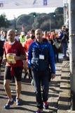41st Roma-Ostia halva maraton Arkivfoton