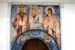 St. Roman Orthodox Monastery Stock Image