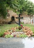 St. Roman Orthodox Monastery Stock Photo