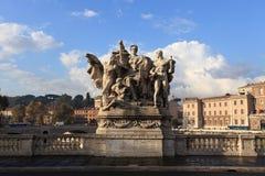 st rome замока ангела Стоковое Изображение