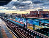 121st rue photos libres de droits