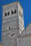 St. Rufino Belltower Cathedral. Assisi. Umbria. Royalty Free Stock Photos