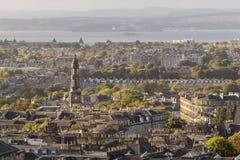 St ` s Farnego kościół i Edynburg Maryjna linia horyzontu obrazy royalty free