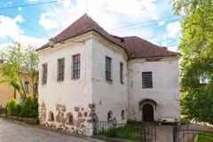 St ` s Hiacyntowy kościół lub rycerza dom Zdjęcia Royalty Free